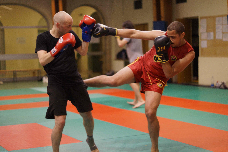 Photo d'un sparring de Sanda